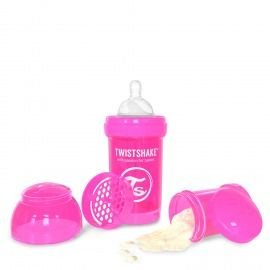 BIBERÓN TWISTSHAKE 180 ML FUCSIA