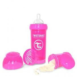 BIBERÓN TWISTSHAKE 280 ML FUCSIA