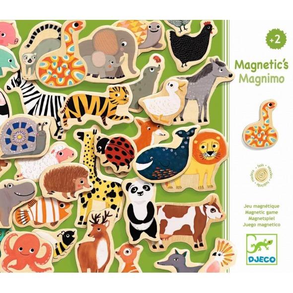 MÁGNÉTICOS ANIMALES MAGNIMO