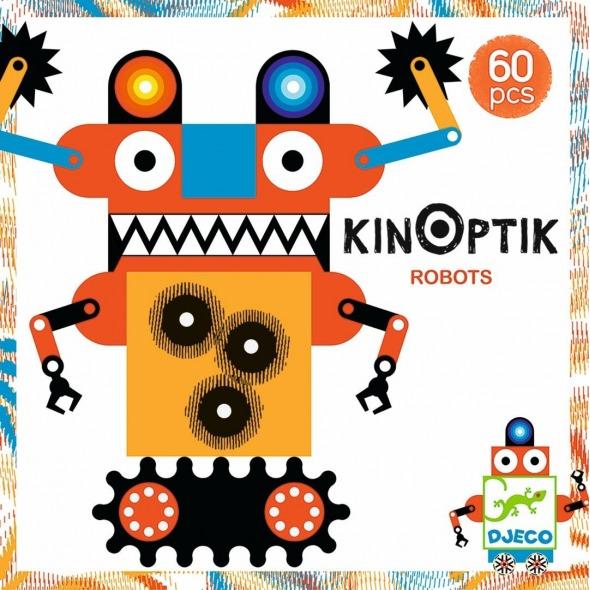 JUEGO CONSTRUCCIÓN KINOPTIK ROBOTS
