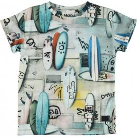 CAMISETA TABLAS SURF CALAVERAS RAFE