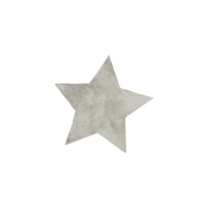 Alfombra estrella gris - Alfombra estrellas ikea ...