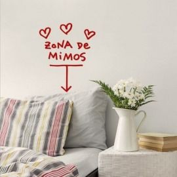 VINILO ZONA DE MIMOS