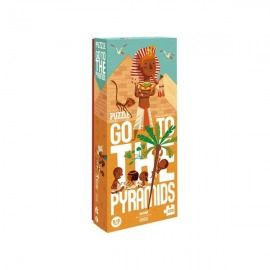 PUZZLE EDAD MEDIA GO TO THE PYRAMIDS