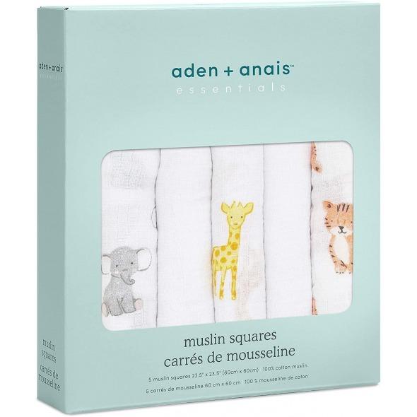 Muselina pequeña algodón safari Babes de Aden+Anais