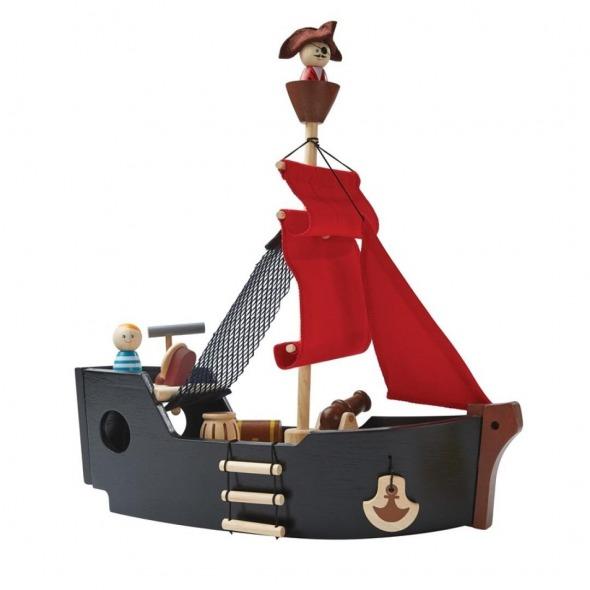 Barco pirata madera de plantoys