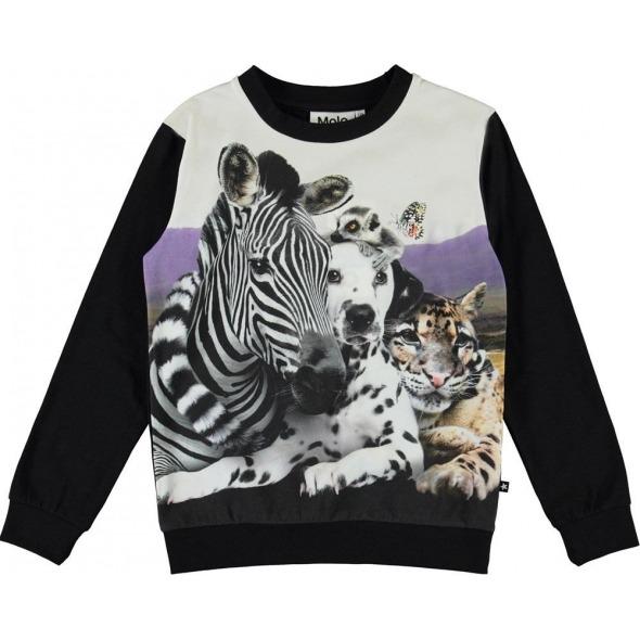 Camiseta regine animales cheek to cheek de Molo