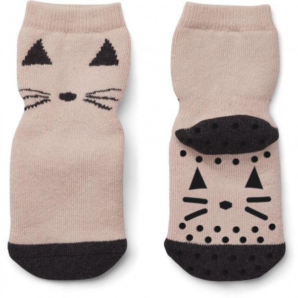 Calcetines anti deslizantes Nellie Panda rose de Liewood