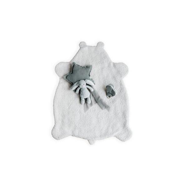 Plaid Teddy Mouton de Babyshower