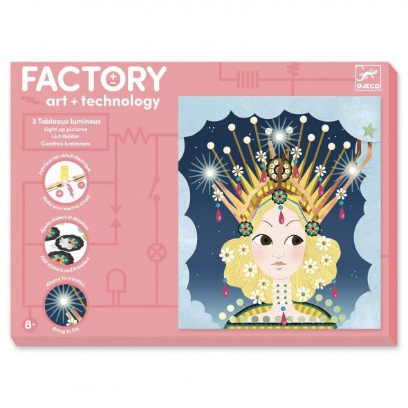 Factory imagenes para iluminar coronadas de Djeco