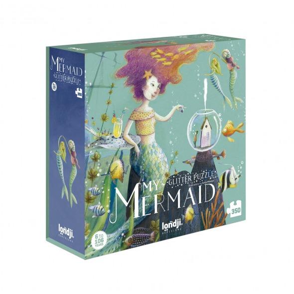 Puzzle Glitter Mermaid Londji