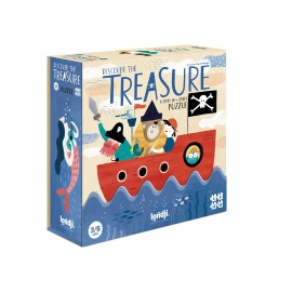 Puzzle progresivo Discover de Treasure de Londji