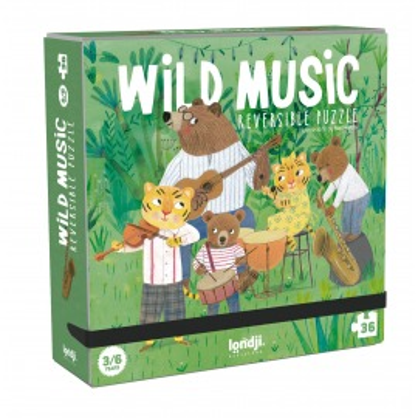 Puzzle reversible Wild Music de Londji