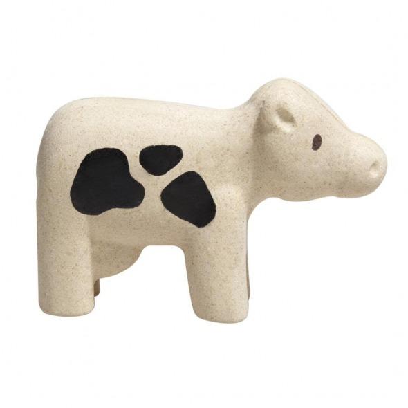 Vaca Figura animal granja de Plantoys