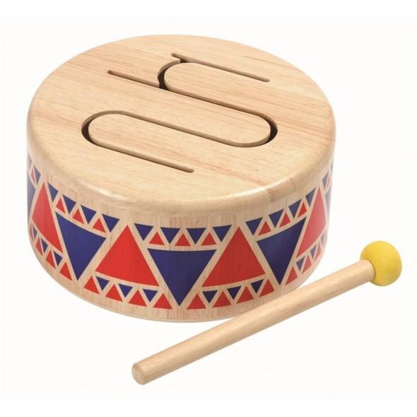 Tambor juguete musical madera de Plantoys