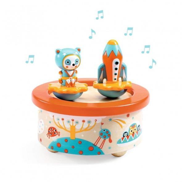 Caja de música Space Melody de Djeco