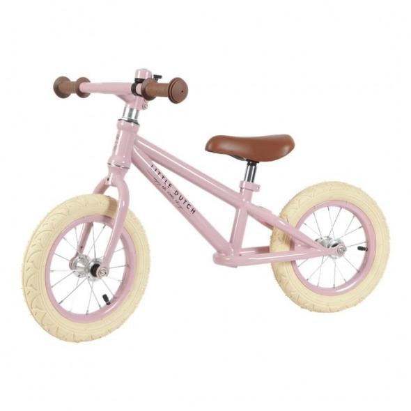 Bicicleta equilibrio rosa Little Dutch