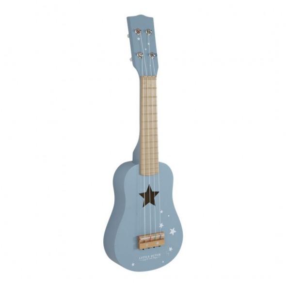 Guitarra Adventure azul de Little Dutch