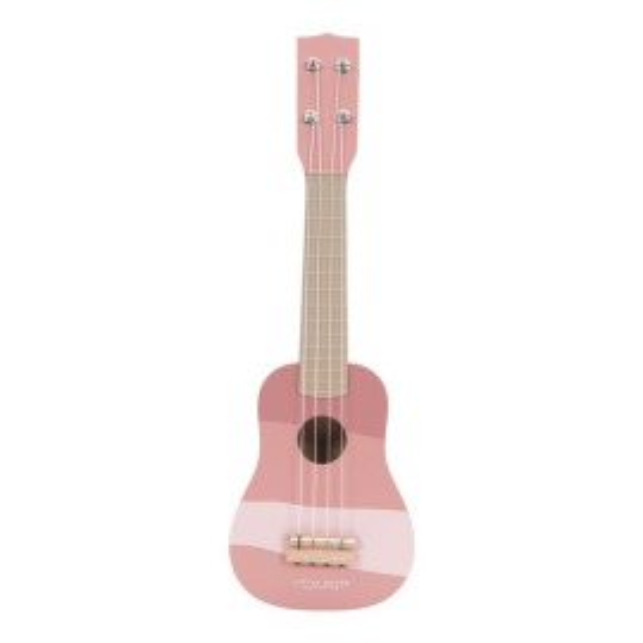 Guitarra rosa Little Dutch