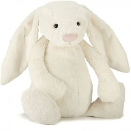 JELLYCAT. BASHFUL CREAM BUNNY