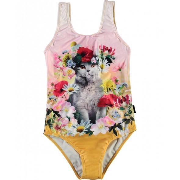 Bañador Nika flower cat de Molo