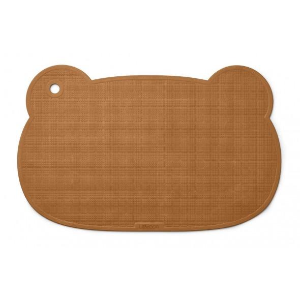 Alfombra bañera Sailor Mr Bear mustard de Liewood