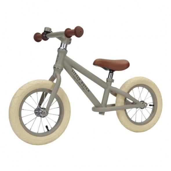 Bicicleta de equilibrio oliva Little Dutch