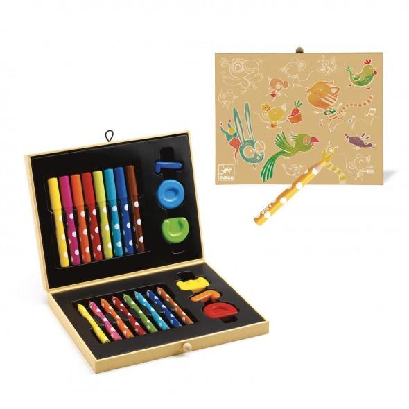 Caja colores para pequeños de Djeco