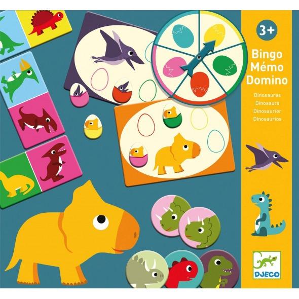 Juego educativo Dinosaurios de Djeco