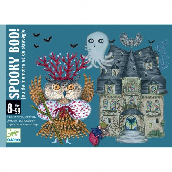 Juego de cartas Spooky Boo de Djeco