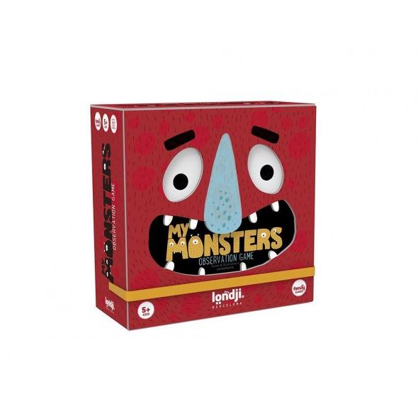 Juego de observación My Monster de Londji