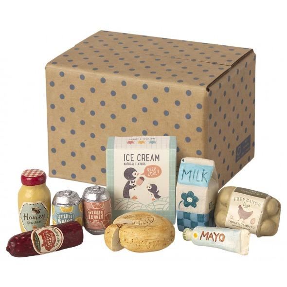 Caja de comida en miniatura de Maileg