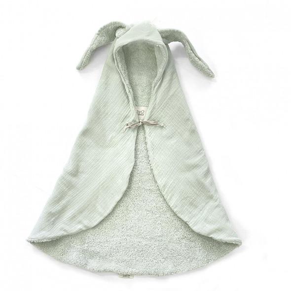 Arrullo toalla bunny sage powder de Babyshower