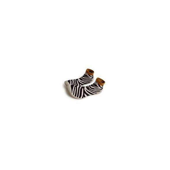 Zapatilla calcetín Antideslizante cebra de Collegien