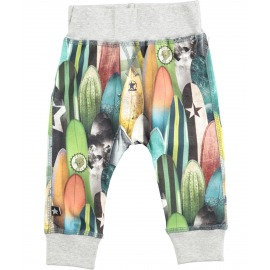 PANTALON BUGGY TABLAS DE SURF GRIS