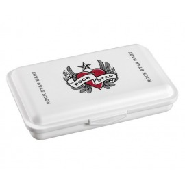 CAJA TOALLITAS HEART & WINGS BLANCA