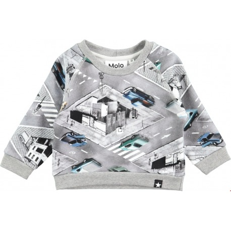 SUDADERA COCHES CROSS ROAD DAG GRIS