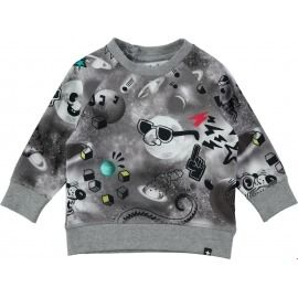 CAMISETA COMIC SPACE ELMO GRIS