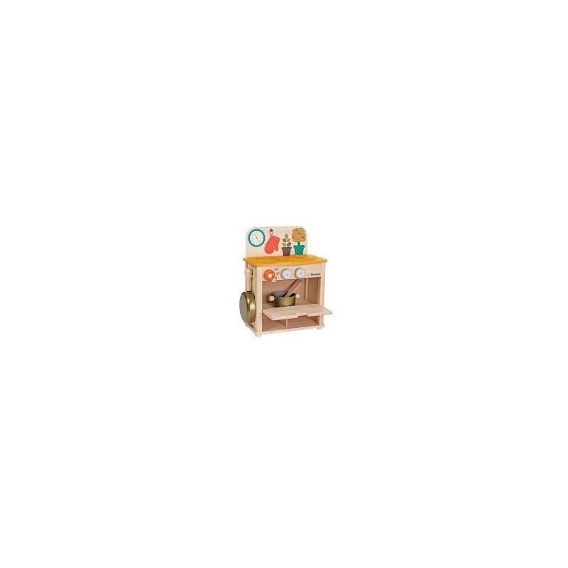 Cocinita madera plantoys juguetes de madera sostenibles - Cocinita de madera segunda mano ...