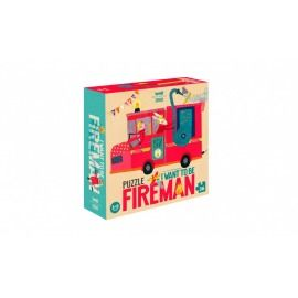 PUZZLE BOMBEROS I WANT TO BE FIREMAN