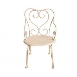 SILLA ROMANTICA MINI ROSA