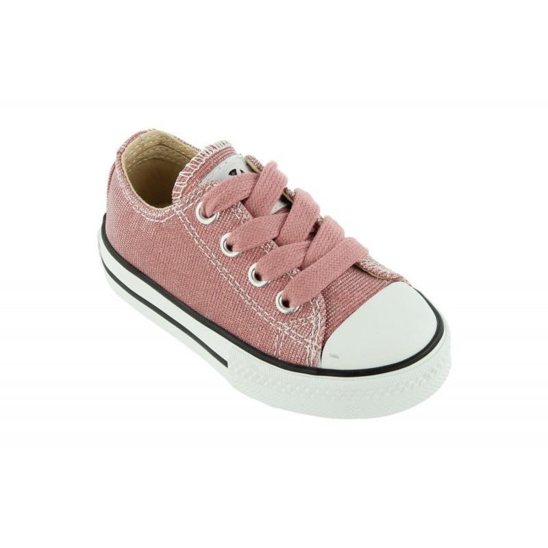 1d9d0bd7b42 Zapatilla basket lurex rosa calzados Victoria. Calzado Infantil.