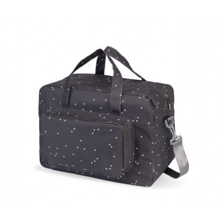 BOLSA MATERNIDAD MINI STAR ANTRACITA
