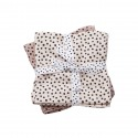 MUSELINAS HAPPY DOTS GRANDES PACK 2 ROSA