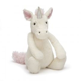 PELUCHE UNICORNIO MEDIANO CREAM