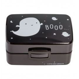 LUNCH BOX DOS COMPARTIMENTOS FANTASMA NEGRO