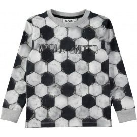 SUDADERA FOOTBALL RAI GRIS