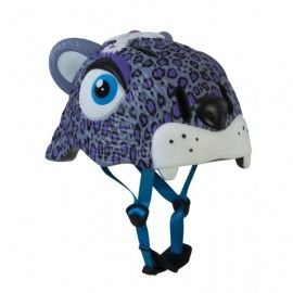 CASCO LEOPARDO LILA