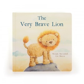 THE VERY BRAVE LION, INGLÉS
