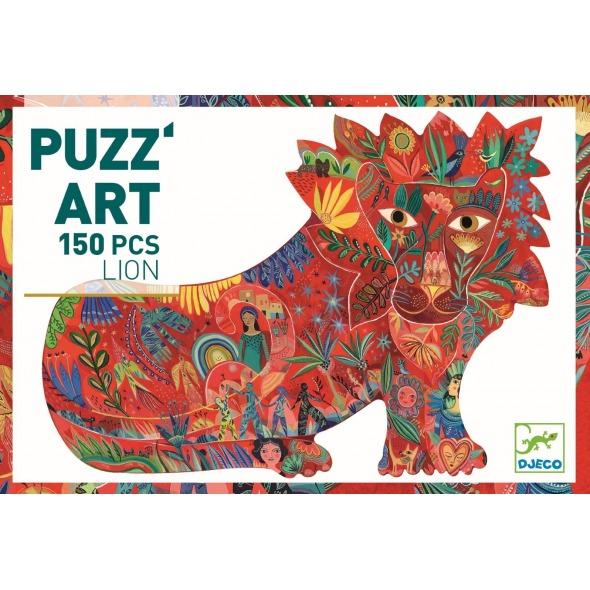PUZZLE ART LEÓN, 150 PIEZAS